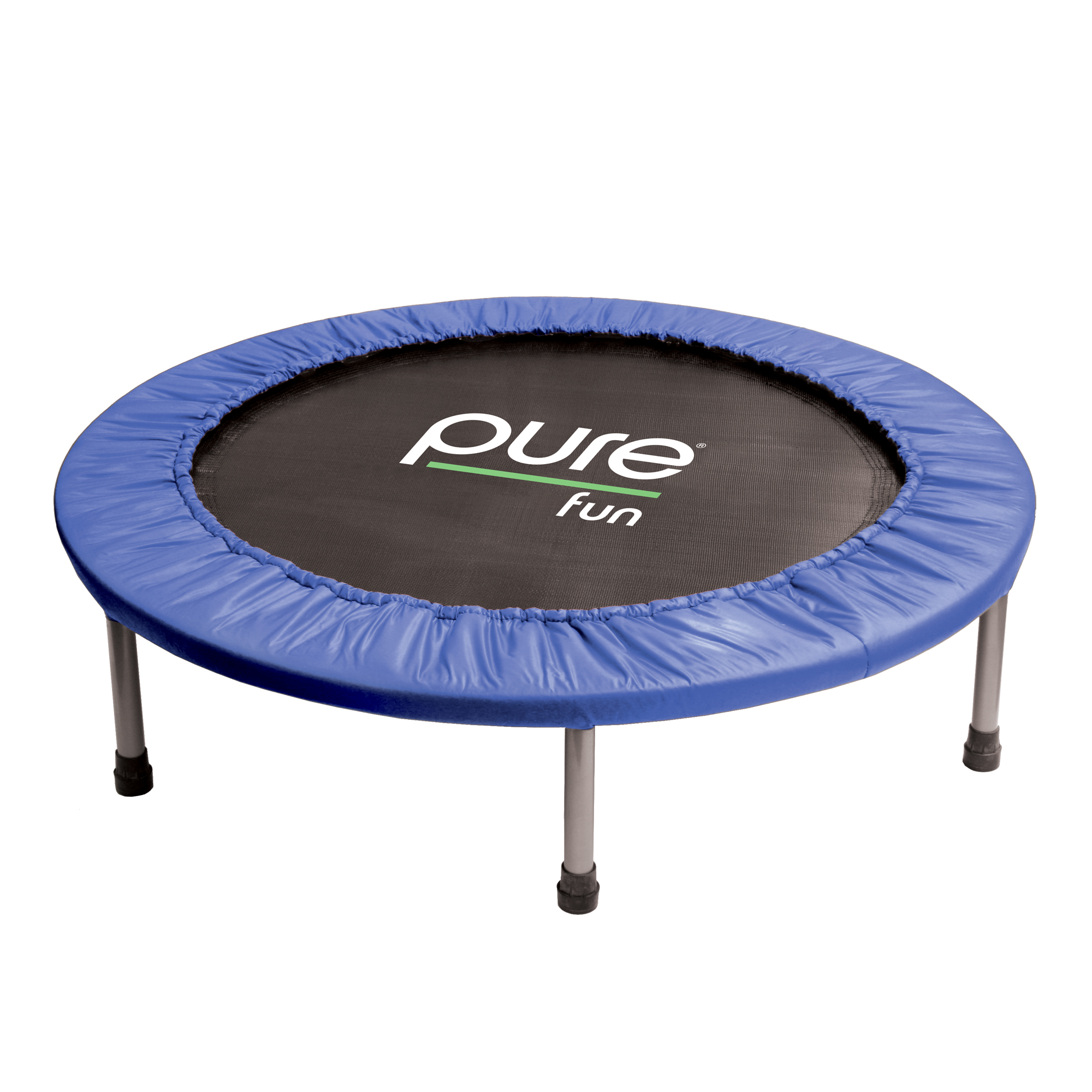 Pure Fun 40-Inch Exercise Fitness Trampoline, Blue