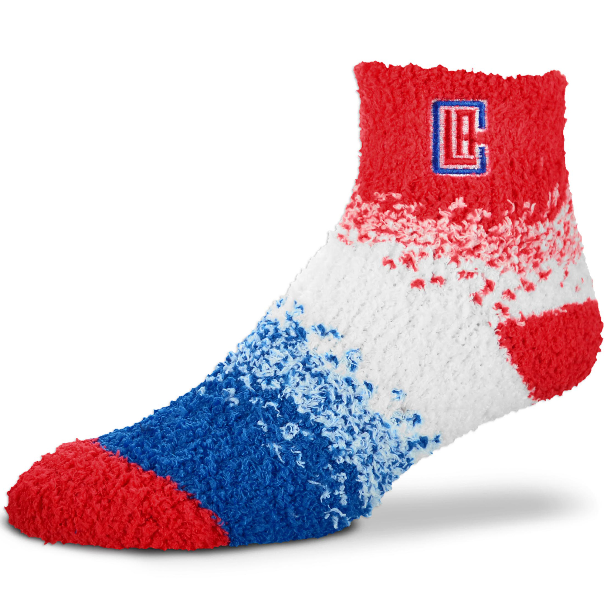 LA Clippers For Bare Feet Women's Marquee Sleep Soft Socks - No Size