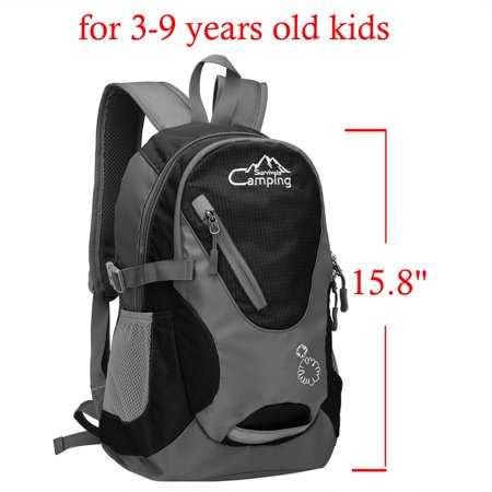 Zimtown 20L Kids Backpack Waterproof School Bag, Durable Hiking Travel Camping Daypack, for Boys and