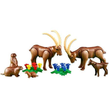 Playmobil Farm Alpine Animals Set #6318 (Farm Animal Set)