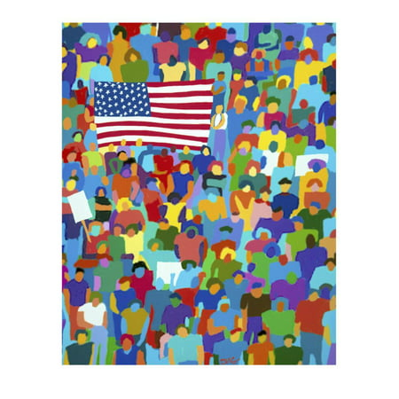 America II Print Wall Art By Diana Ong
