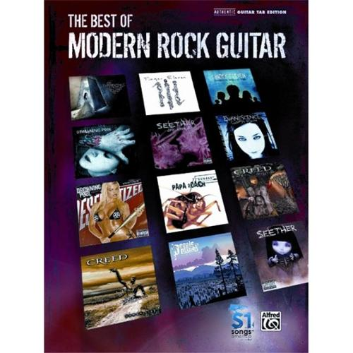 Alfred The Best of Modern Rock Guitar (TAB)