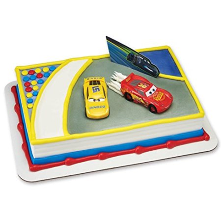 SPECIAL ORDER CAKE DECORATION - CARS 3-AHEAD OF THE CURVE - The Band Cake