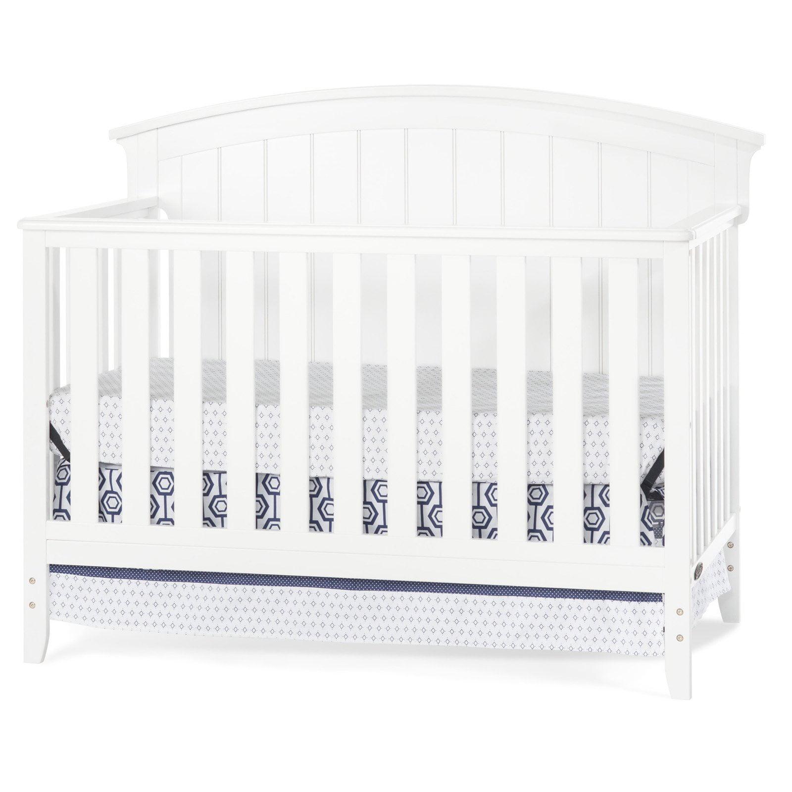 Delaney 4-in-1 Convertible Crib Matte White