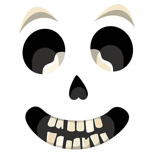 WallPops Sir Bones Door Decal