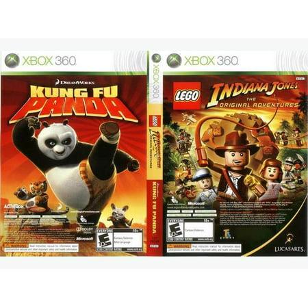 LEGO Indiana Jones/ Kung Fu Panda- Xbox 360 (Refurbished) (Wwe 10 Xbox 360)
