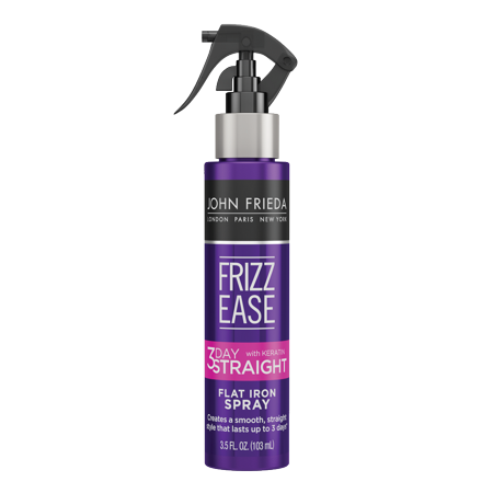 John Frieda Frizz Ease 3-day Straight Flat Iron Spray, 3.5 FL OZ Easy Straight Straight Styling Solutions