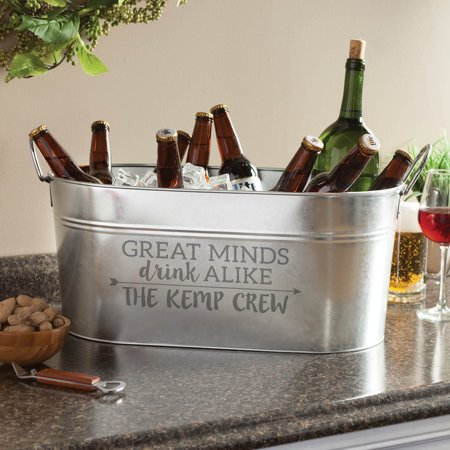Great Minds Drink Alike Personalized Beverage Tub ()
