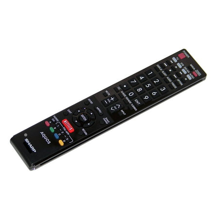OEM Sharp Remote Control Specifically For: LC60LE633U, LC-60LE633U, LC60LE832U, LC-60LE832U