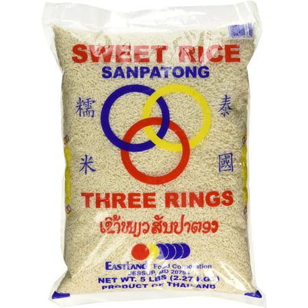 Thai Sticky Rice (Sweet Rice) 5 Lbs
