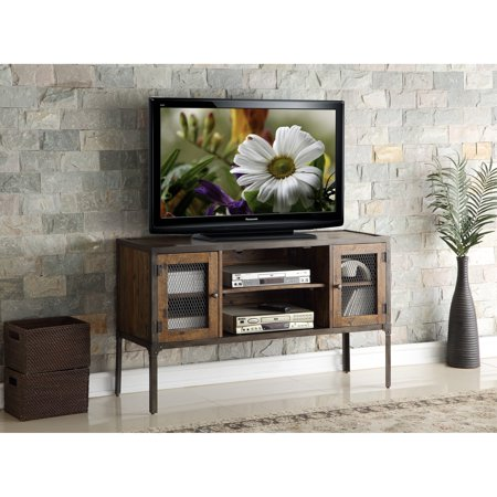 New Classic Furniture Colchester Rustic Distressed Entertainment TV Console - 52 inches