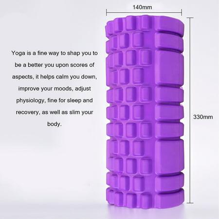 Column Yoga Block Fitness Equipment Pilates Foam Roller Fitness Gym Exercise