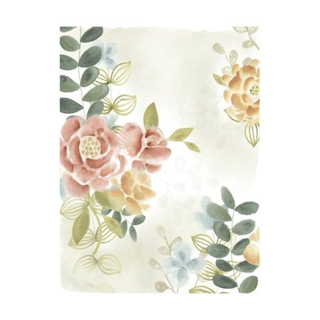 Soft Flower Collection I Print Wall Art By June Erica (Collection Flower Print)