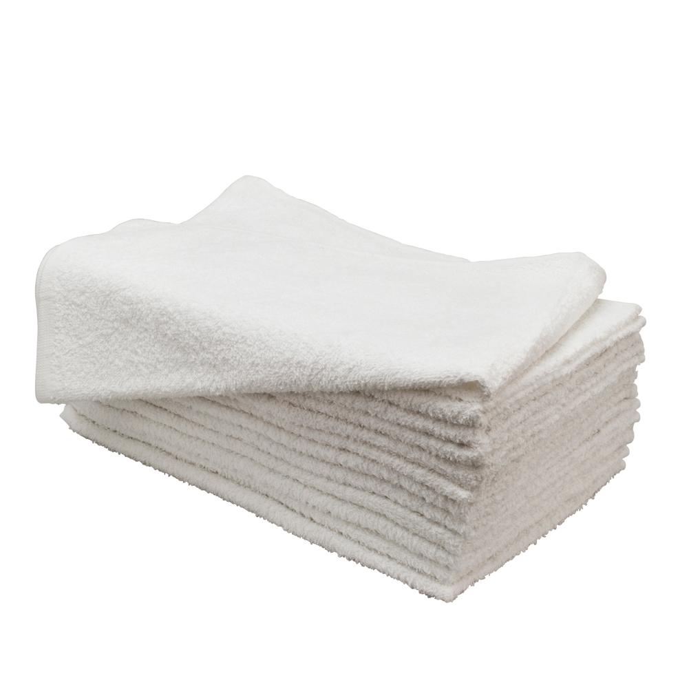 """Magna Plus 15"""" x 25"""" 12 Pack Cotton Salon Towels, WHITE, 65300"""