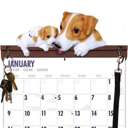 Jack Russell Terrier Calendar Caddy & Leash Hook,  by DogBreedStore.com