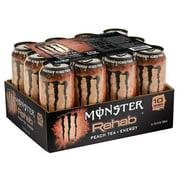 Monster Energy Rehab Peach Tea + Energy (15.5 oz., 12 ct.) by