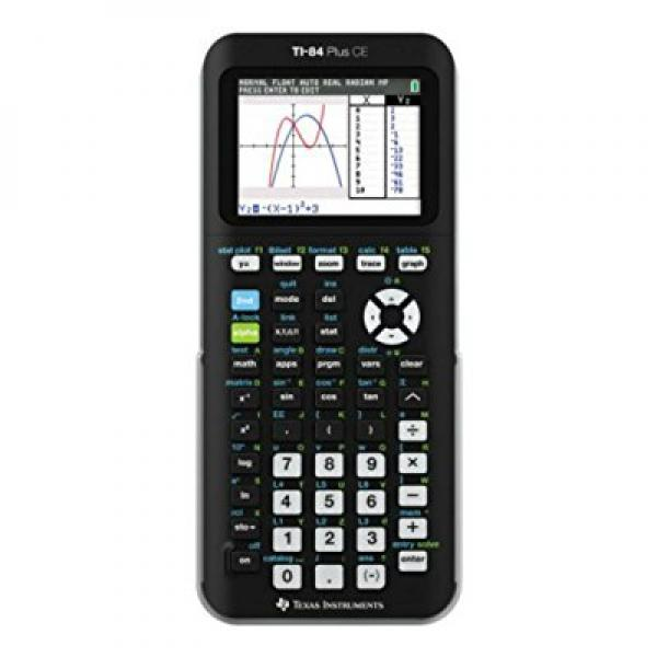 TI-84 Plus CE Graphing Calculator, Assorted Colors Hottest Items Now