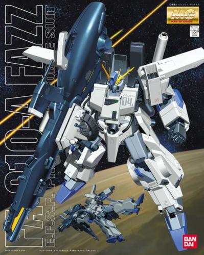 Bandai Hobby Zeta ZZ Gundam FA-010A Fazz MG 1 100 Model Kit by Bandai Hobby