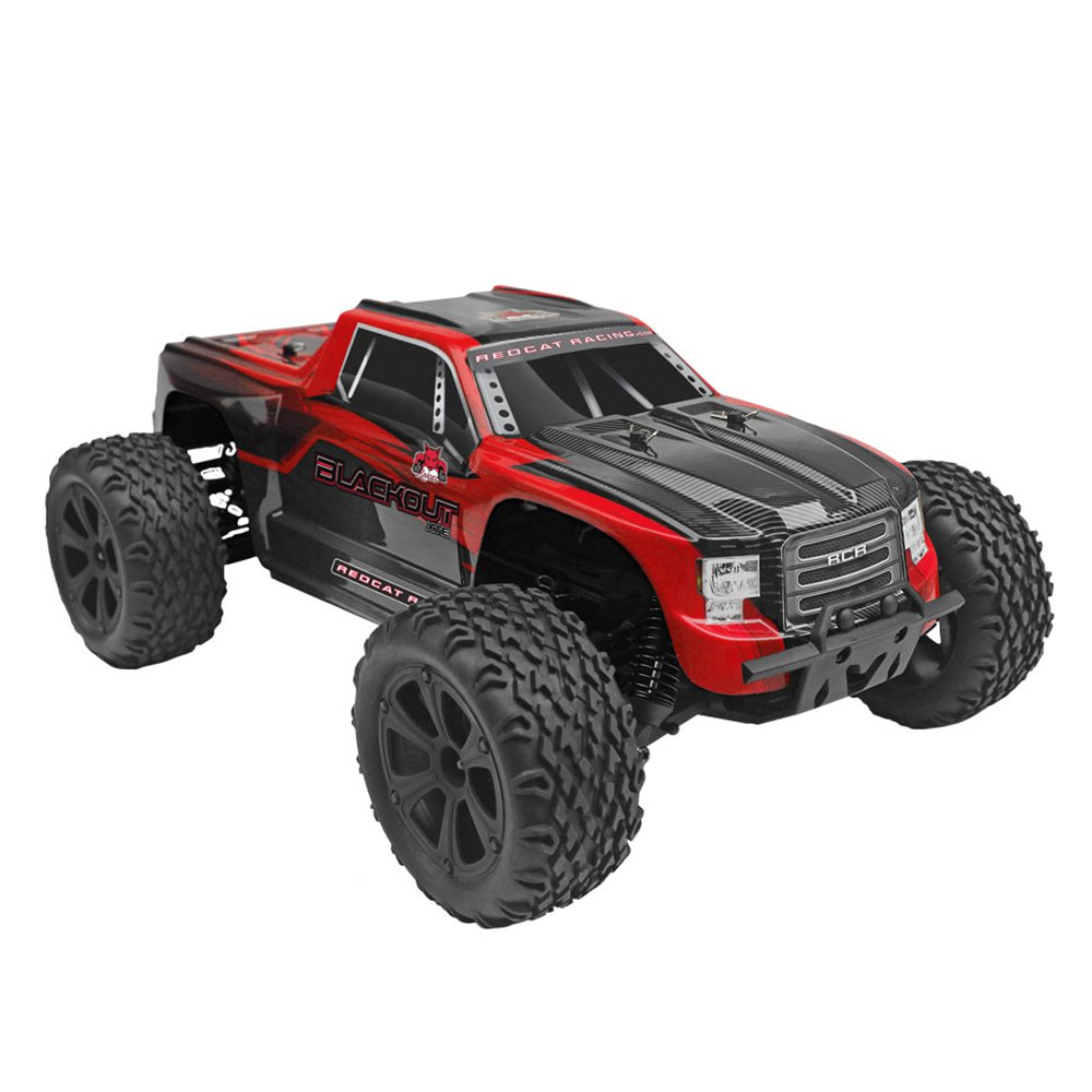 Redcat Racing Blackout XTE 1 10 Scale Brushed Electric RC Monster Truck Vehicle by Redcat Racing