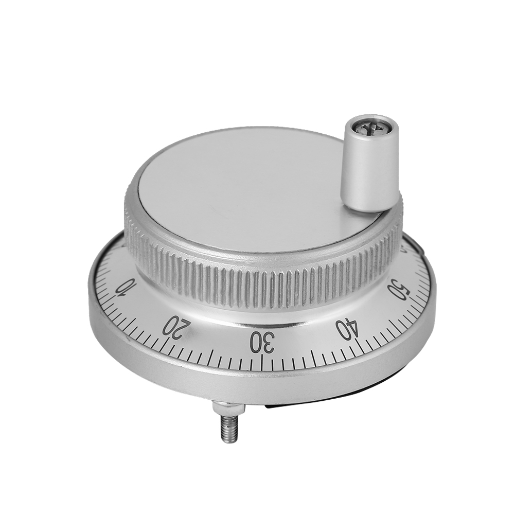 5V 60Mm High Reliability Hand Encoder Pulse Encoder for Manual Pulse Input Type for CNC System White