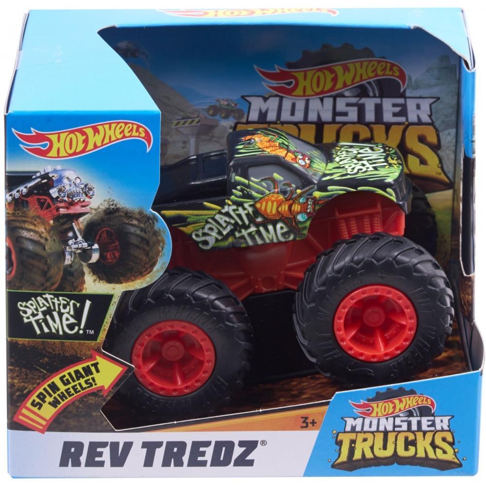 Hot Wheels Monster Trucks Rev Tredz Splatter Time! Vehicle by Mattel