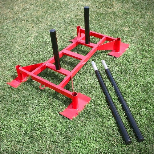 Unified Fitness Professional Driving Power Push Pull Sled