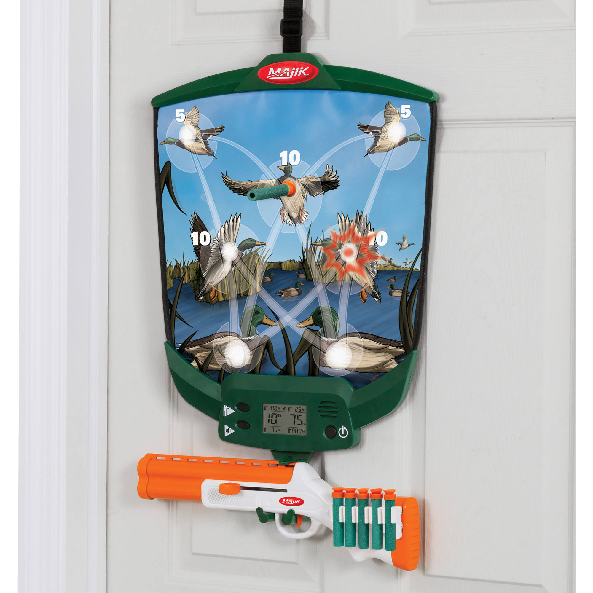 Majik Over the Door Duck Hunting Game