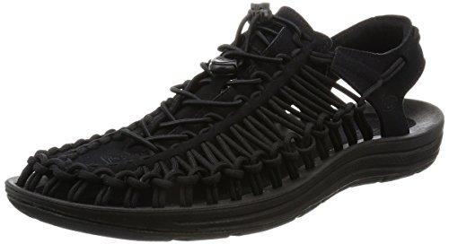 Keen 1014097: Uneek Mens Black Black by Keen - US Shoes