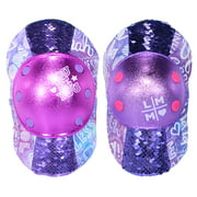Little MissMatched Girl's Fearless Magic Sequin Protective Pad Set, 8+