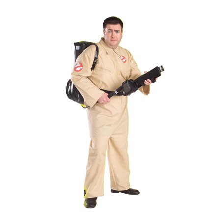 Ghostbuster 1980s Mens Plus Size Costume 17387