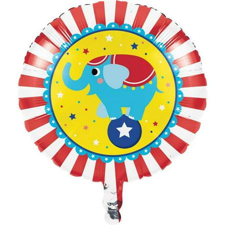 Creative Converting 340170 Circus Animals Mylar Balloon - image 1 of 1