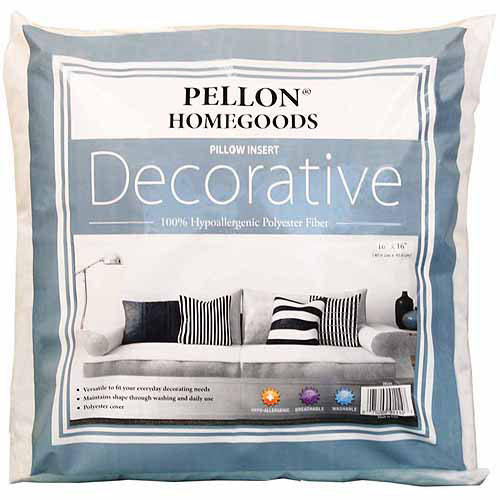"Pellon Homegoods Decorative Pillow Insert 4-Pack, 16"" x 16"""