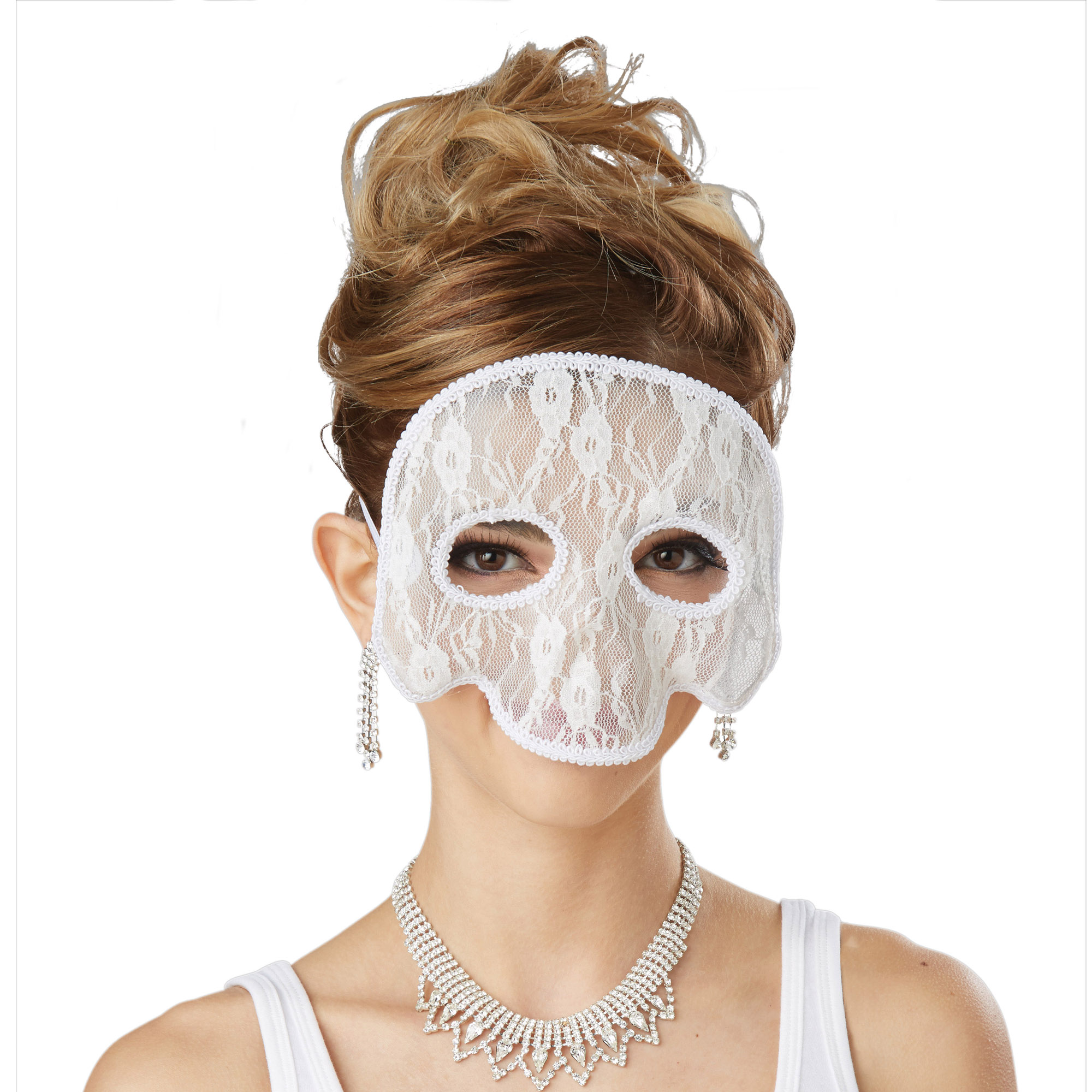 Halloween White Skull Mask