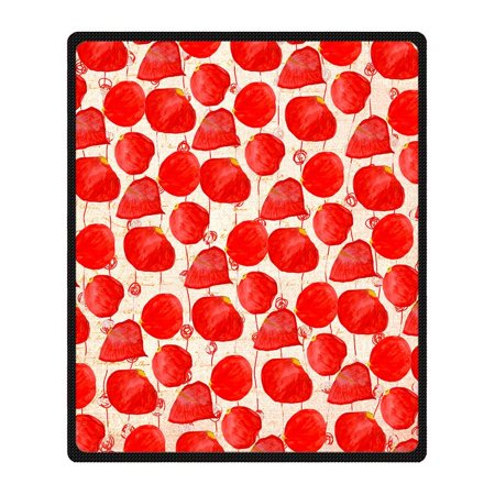 RYLABLUE Rose Blanket Fleece Throw Blanket for Sofa or Bed 58x80 inches - image 3 de 3