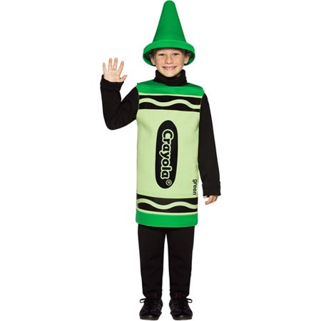 Crayola Green Toddler Halloween Costume