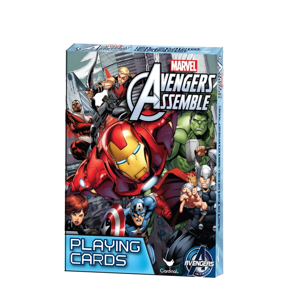 Avengers Assemble Playing Cards, Action Movies by Red Bird Hong Kong