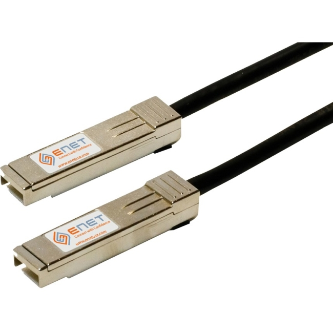 Enterasys Compatible 10GB-C01-SFPP - Functionally Identical 10GBASE-CU SFP+ to SFP+ Direct-Attach Cables Passive 1m - Programmed, Tested, and Supported in the USA, Lifetime Warranty""
