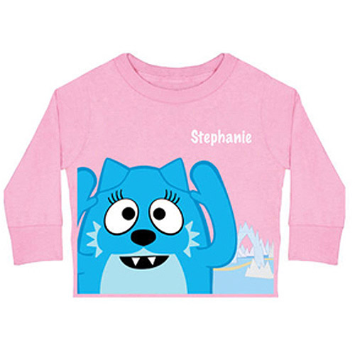 Personalized Yo Gabba Gabba! Toodee Toddler Girls' Long-Sleeve Tee