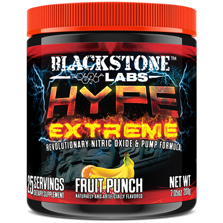 (Blackstone Labs Hype Extreme (Fruit Punch - 25 Servings))