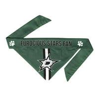 nhl dallas stars pet bandanna, small
