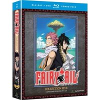 Fairy Tail: Collection Five (Blu-ray + DVD)