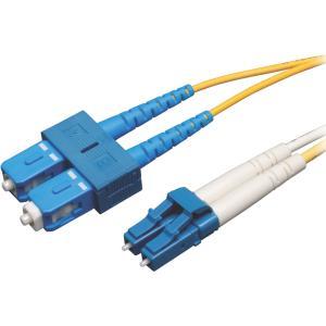 Tripp Lite 20m (65ft) Duplex Singlemode 8.3/125 Fiber Patch Cable (LC/SC)