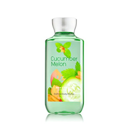 - Bath & Body Works Shea & Vitamin E Shower Gel Cucumber Melon, 10 fl. Oz