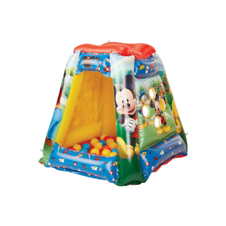 - Mickey Mouse Iconic Playland w/ 20 Balls for Kids
