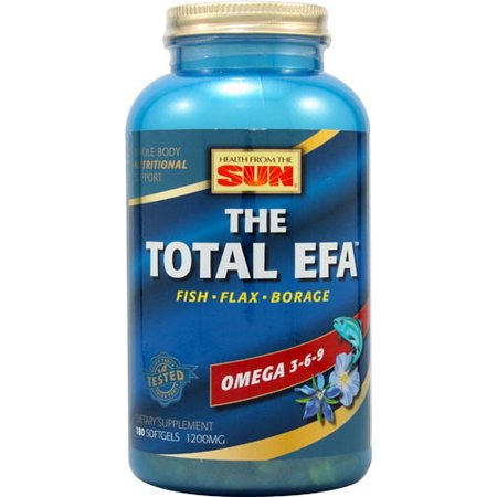 Total Efa Womens Formula - Health From The Sun The Total EFA, 180 Ct