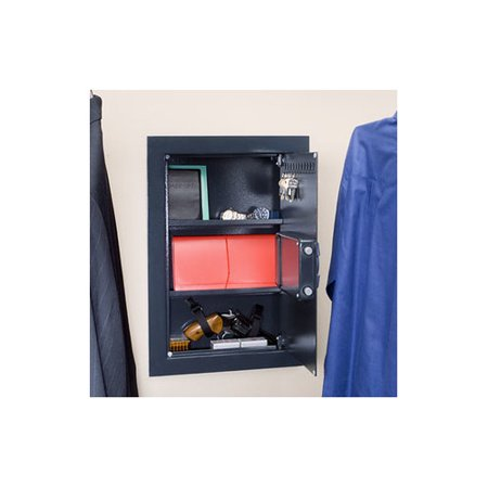 Stack On Wall Safe with Electronic Lock