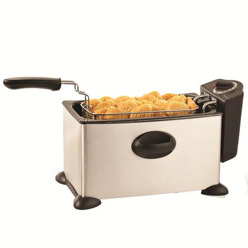 Bella 3 5l Deep Fryer Stainless Steel 13401 Walmart Com