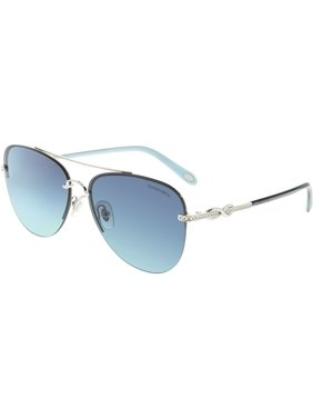 62ab97b262 Product Image Tiffany And Co. Women s Gradient TF3054B-60019S-59 Blue  Rimless Sunglasses