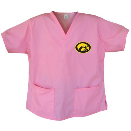 University of Iowa Scrubs Iowa Hawkeyes Tops and Shirts for Women
