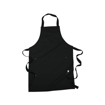 Econscious Women's Organic Cotton Recycled Polyester Eco Apron, Style EC6015
